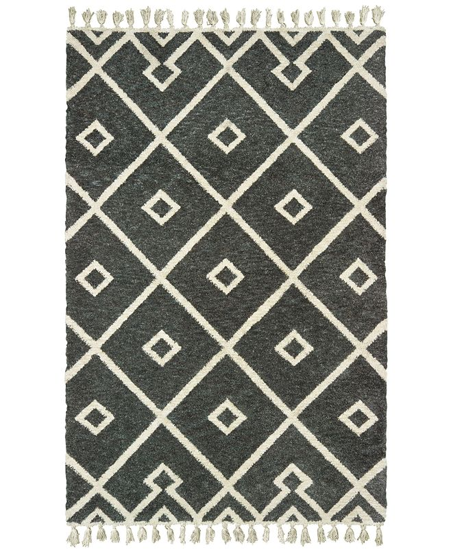 Oriental Weavers Madison 61407 Gray/Ivory 8' x 10' Area Rug