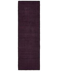 "Mira 35106 Purple/Purple 2'6"" x 8' Runner Area Rug"