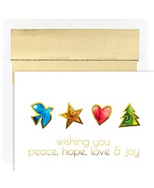 Masterpiece Studios Peace Hope Love and Joy Holiday Boxed Cards