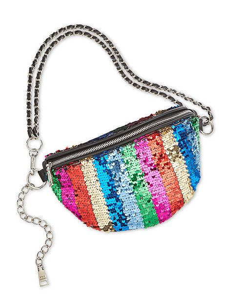Steve Madden Pride Sparkle Convertible Belt Bag