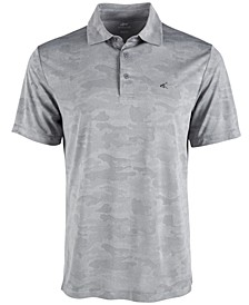 Men's Camo Jacquard Polo, Created for Macy's