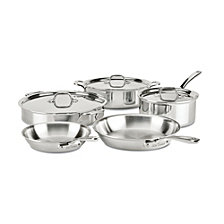 All-Clad D3 Compact 8-Piece Set