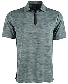 Greg Norman Men's Quarter-Zip Polo