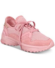COACH C143 Mixed Mesh Sneakers