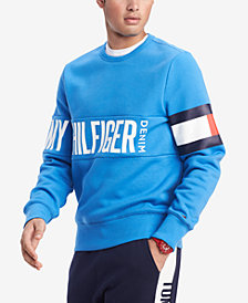 Tommy Hilfiger Men's Graphic Logo Sweatshirt, Created for Macy's