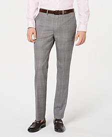 Men's Modern-Fit Plaid Pants