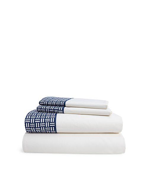 Lauren Ralph Lauren Nicola Basket-Weave Full/Queen Sheet Set