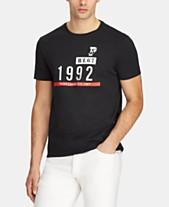 e2c3d4045527a Polo Ralph Lauren Men s Active Fit P-Wing Graphic T-Shirt
