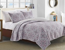 Terragon 3 Piece Quilt Set King