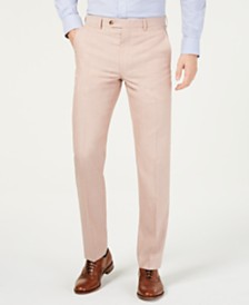 Lauren Ralph Lauren Men's UltraFlex Classic-Fit Textured Pants