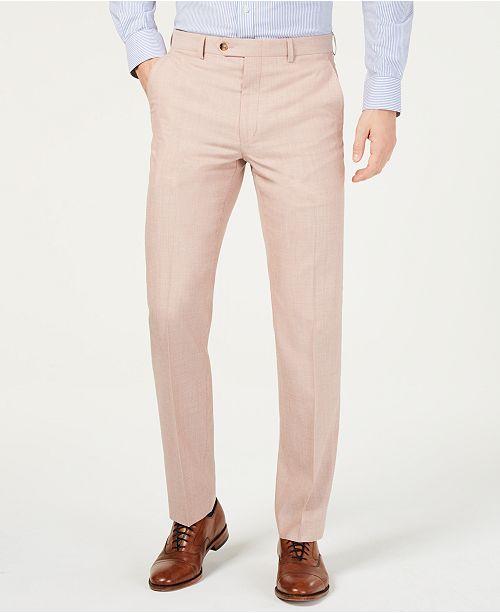 Lauren Ralph Lauren Men's UltraFlex Classic-Fit Textured Pants