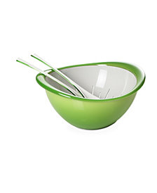 Lorren Home Trends Omada-Italy Colander and Bowl Set