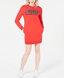 Superdry Graphic Sweatshirt Dress