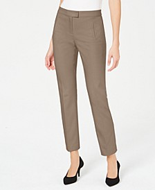 Petite Tummy-Control Slim-Leg Pants, Created For Macy's
