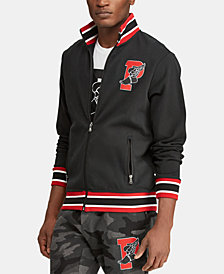 Polo Ralph Lauren Men's Big & Tall P-Wing Cotton Track Jacket