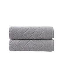 Gracious 2-Pc. Bath Towels Turkish Cotton Towel Set