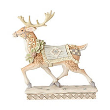 White Woodland Reindeer
