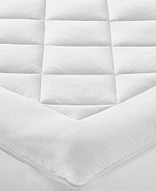 Martha Stewart Collection Premium Zip Top Twin Mattress Pad, Created for Macy's