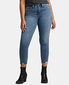 Silver Jeans Calley Cropped Skinny Jeans
