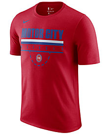 Nike Men's Detroit Pistons Team Verbiage T-Shirt
