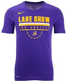 Nike Men's Los Angeles Lakers Team Verbiage T-Shirt