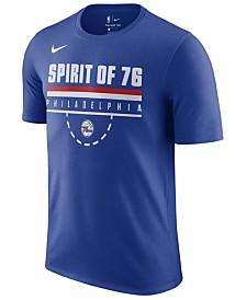 Nike Men's Philadelphia 76ers Team Verbiage T-Shirt