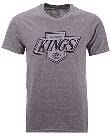 Majestic Men's Los Angeles Kings Tri-Blend Team Logo T-Shirt