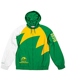 Mitchell & Ness Men's Seattle SuperSonics Shark Tooth Jacket