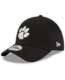 Clemson Tigers Black White Neo 39THIRTY Cap