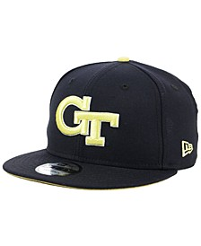 Georgia-Tech Core 9FIFTY Snapback Cap
