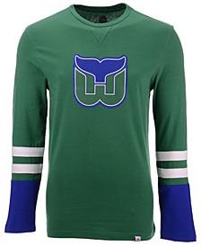Men's Hartford Whalers 5 Minute Major Long Sleeve T-Shirt