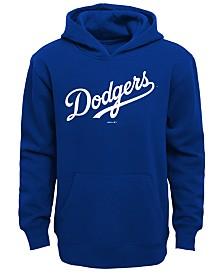 Outerstuff Los Angeles Dodgers Wordmark Hoodie, Little Boys (4-7)