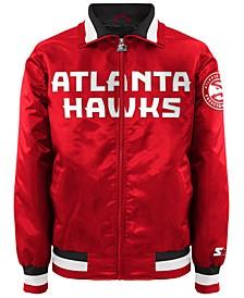 Men's Atlanta Hawks Starter Captain II Satin Jacket