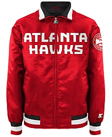 G-III Sports Men's Atlanta Hawks Starter Captain II Satin Jacket