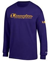 ea4a223b2 Champion Men's LSU Tigers Co-Branded Long Sleeve T-Shirt