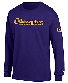 Champion Men's LSU Tigers Co-Branded Long Sleeve T-Shirt