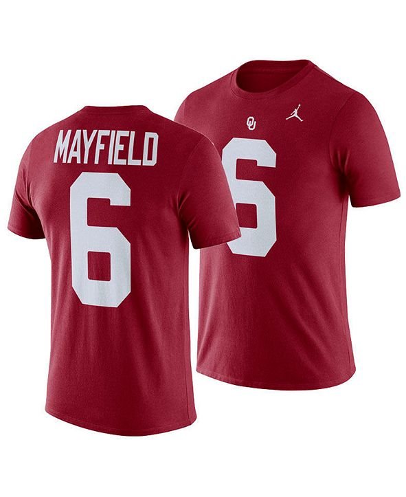 Nike Baker Mayfield Oklahoma Sooners Future Star T-Shirt, Big Boys (8-20)
