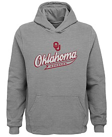 Outerstuff Oklahoma Sooners Tailsweep Hooded Sweatshirt, Little Boys (4-7)