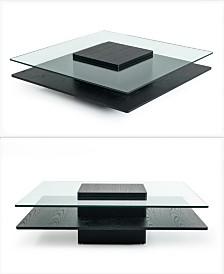 Square Mid Century Coffee Table