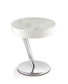 Modern End Table with Chrome Frame