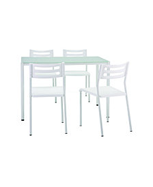 Bistro Studio 5 Pieces Dining Set