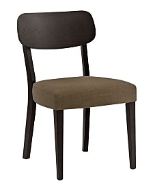New Spec Mid Century Wood Dining Chair Set of 2 Pieces