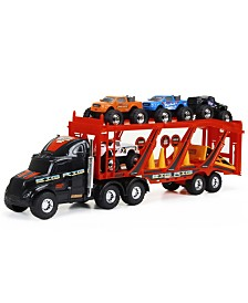 """22"""" Big Foot Car Carrier with 4 Trucks and Accessories"""