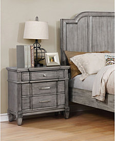 Elna Transitional Nightstand