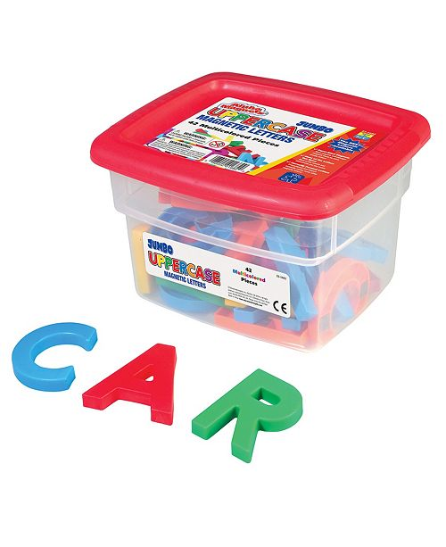 Learning Resources Educational Insights Alphamagnets- Jumbo Multicolored Uppercase 42 Pieces