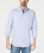 ee22ca0b44e Club Room Men's Solid Stretch Oxford Cotton Shirt, Created for Macy's