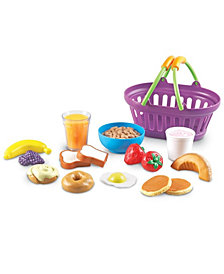 Learning Resources New Sprouts Breakfast Foods Basket 16 Pieces