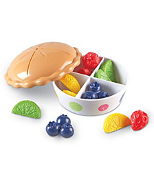 Learning Resources Color Fun Fruit Pie-13 Pieces