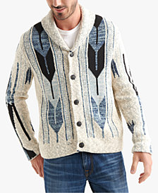 Lucky Brand Men's Shawl Collar Cardigan