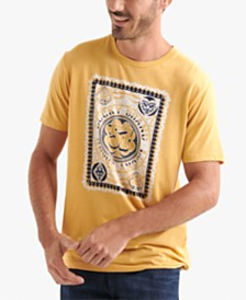 Lucky Brand Men's Poker Card Graphic T-Shirt